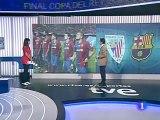 TVE corta la señal con Mestalla cuando iba a sonar el himno de España