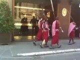 Corteo di Masai in centro a Firenze