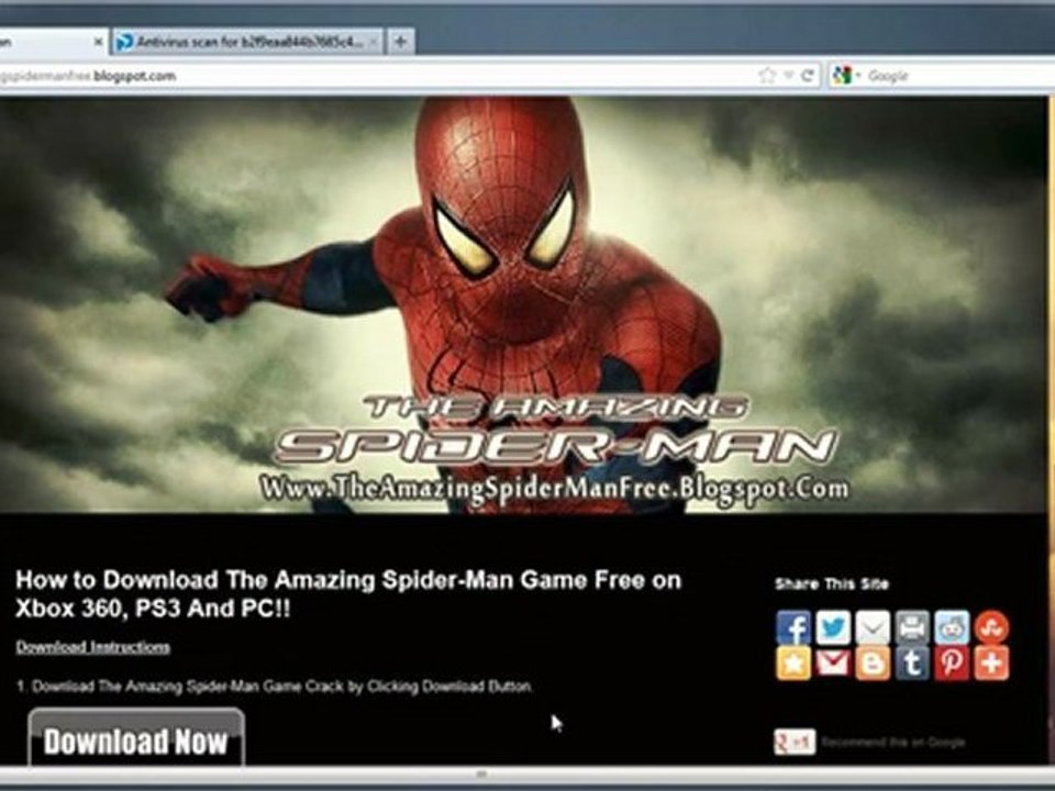 How to Install The Amazing Spider-Man Game Free on Xbox 360 PS3 And PC