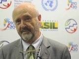Conférence de Rio+20 : la minute de Rio interview Brice Lalonde à Rio coordinateur des Nations Unies pour la conférence de Rio sur le développement durable