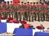 Cérémonie d'hommage national aux soldats français tombés en Afghanistan