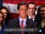Rick Santorum renuncia a la candidatura del Partido Republicano - Santorum says goodbye