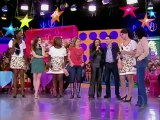 Taís Araújo, Isabelle Drummond e Leandra Leal dançam com outras empreguetes 24 6 12