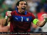 watch euro 2012 quarter final France vs Spain football live stream online