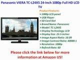 Panasonic VIERA TC-L24X5 24-Inch 1080p Full HD LCD HDTV REVIEW | Panasonic VIERA TC-L24X5 SALE
