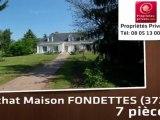 Vente - maison - FONDETTES (37230)  - 4 000m²