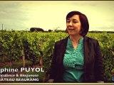 Le vin au féminin en Gironde - Delphine Puyol, château Beaurang