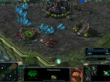 Stalin's Starcraft II Battle Report #6 (1 vs 1 Steppes of War) Co-commentary with Jahazey