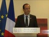 Conférence de presse du Président lors de la conférence Rio+20