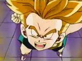 DBZ- Trunks goes Super Saiyan for the First Time! [HD]
