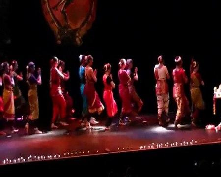 Spectacle de  Bharata Natyam (danse Indienne) -  association Menkali Nantes