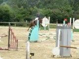 Perrine et SEMILLANT 4 points au concours du boulerie jump