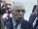Napolitano - Risposte al termine della cerimonia della Guardia di Finanza (21.06.12)