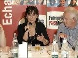 Isabelle ALONSO - débat sur le féminisme chez Entreprises & Médias