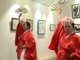 miko-mai danse traditionnelle shinto du Japon / traditionnal japanese shrine maiden dance in Paris