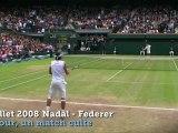 """VIDEO - Wimbledon - """"Un jour, un match culte"""" : Rafaël Nadal vs Roger Federer (2008)"""
