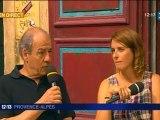 Anne Décis et Michel Cordes en direct sur FR3 Provence-Alpes
