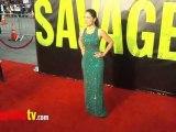 SAVAGES Premiere Salma Hayek, Blake Lively, John Travolta, Benicio Del Toro