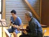 M2U01075 Blues. Duo de guitare sèche et electrique- Audition des élèves des Ateliers Musicaux de Scy Chazelles en mai 2012