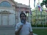 Informe a cámara: Franco lanza mensaje de gobernabilidad con advertencias a países vecinos