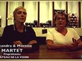 Le vin au féminin en Gironde -  Alexandra & Martine Martet, Château Lavison