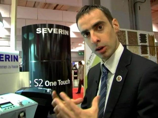 SEVERIN : S2 ONE TOUCHE une machine entièrement automatique pour votre café !