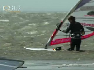 Record de vitesse en windsurf chronométré par GPS