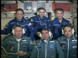 [ISS] Expedition 28 Hatch Opening & Welcome Ceremony
