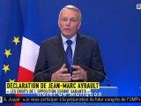 """Jean-Marc Ayrault : """"les prérogatives du Parlement respectées, les droits de l'opposition garantis"""""""