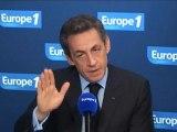 """Sarkozy sur Europe 1 : """"il y aura d'autres opérations"""""""