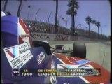 CART Long Beach 1996 Crash Gordon Herta