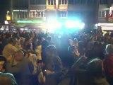 DJ Lorenzo en mix live pour la Fête de la musique à Saint Lô, le vendredi 22 juin 2012 au pied des remparts à côté du tendance live