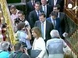L'envolée des taux d'intérêt inquiète Mariano Rajoy