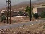 Syria فري برس  حماه المحتلة مقطع قوي يظهر الصوا