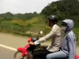 Traveling on motorbike to Lac village_xvid