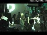 Dancefloor Resolutions @ Chaplin's Beach Bar   Rhodes Island, Greece