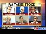 Manmohan Singh takes stock of economic situation