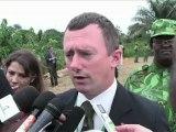 Le Gabon brûle 5 tonnes d'ivoire