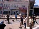Syria فري برس  درعا حوران إنخل  دمار نتجة المجزرة 27 6 2012 ج7 Daraa