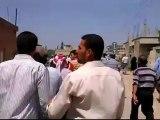 Syria فري برس  درعا حوران إنخل  دمار نتجة المجزرة 27 6 2012 ج4 Daraa