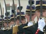 Cérémonie de fin de scolarité à l'Ecole des officiers de la gendarmerie nationale