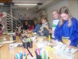 Les élèves des Ateliers d'arts plastiques d'Aire sur la lys