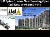 9818697444 ILD Group Spire Greens at Sector 37 C Gurgaon