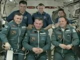 [ISS] Hatching Opening & Welcome Cerermony of Soyuz TMA-21 and the ISS