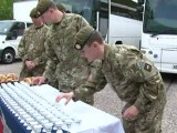 World record for soldiers eating... (toasted) soldiers!