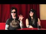 Interview Murderdolls - Joey Jordison and Wednesday 13 (part 1)