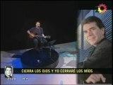 Pedro Aznar - Homenaje a Juan Alberto Badia (Telenoche)