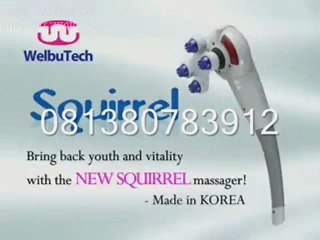 alat pijat squirrel massager magic hand luxurious 7in1 8in1 new massager