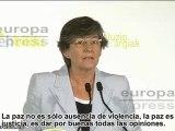 """Bildu: """"Paz no es solo ausencia de ETA"""""""