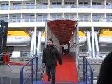AIDAblu Hamburg Hafen AIDA kreuzfahrten AIDAblue Film Video Clubschiff